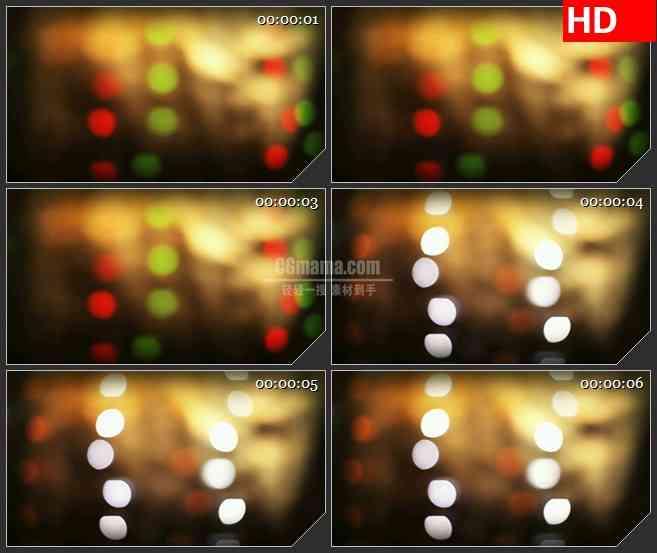 BG3067虚幻朦胧的多彩光斑高清led大屏视频背景素材