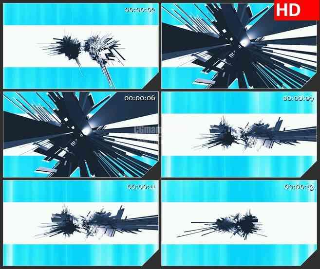 BG3071旋转的不明物体 高清led大屏视频背景素材