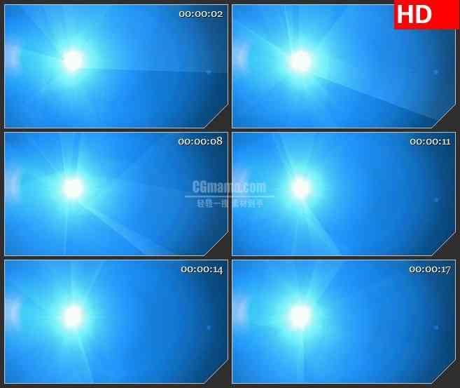 BG3082炫目的蓝色背景上的灯塔高清led大屏视频背景素材