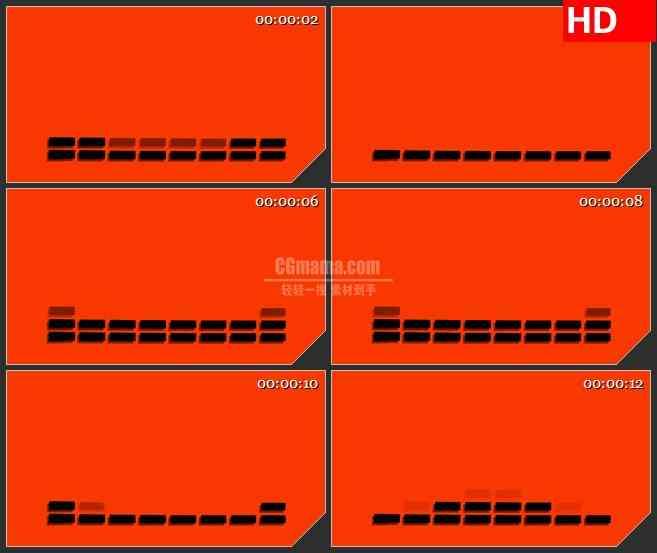 BG3111音乐元素 音频均衡器高清led大屏视频背景素材