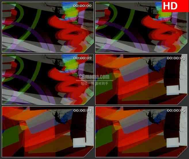 BG3116印象派 涂鸦式动画高清led大屏视频背景素材