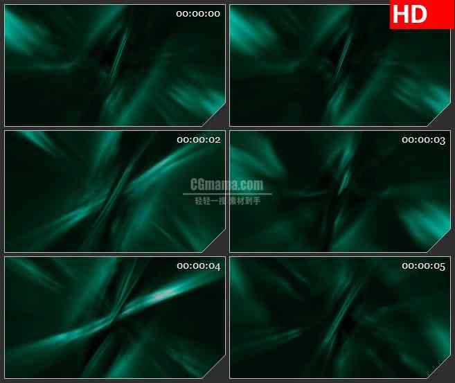 BG3121运动的绿色波浪高清led大屏视频背景素材