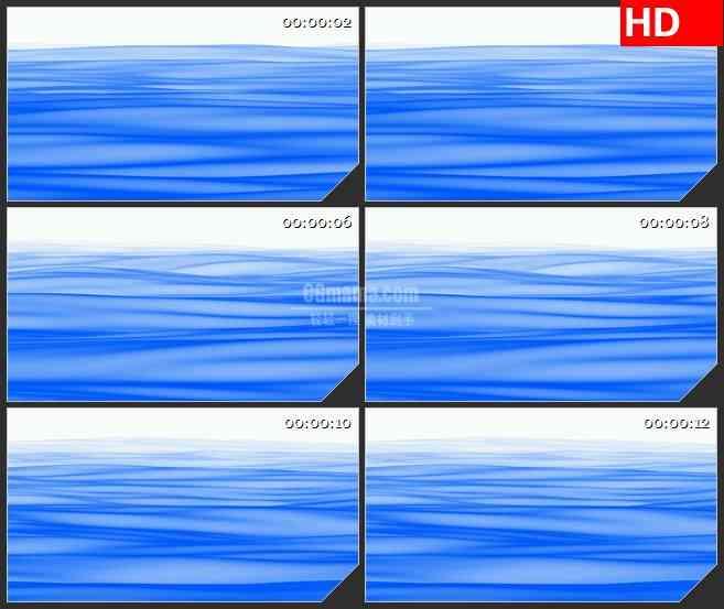 BG3165纯净的蓝色海洋led大屏背景高清视频素材