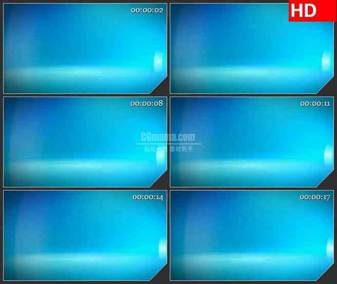 BG3166纯净蓝色渐变光背景led大屏背景高清视频素材