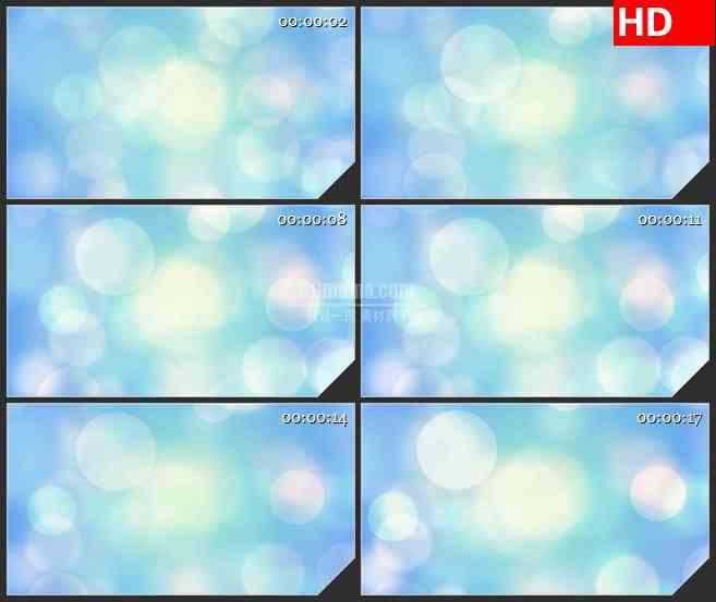 BG3190动态 蓝色梦幻光背led大屏背景高清视频素材
