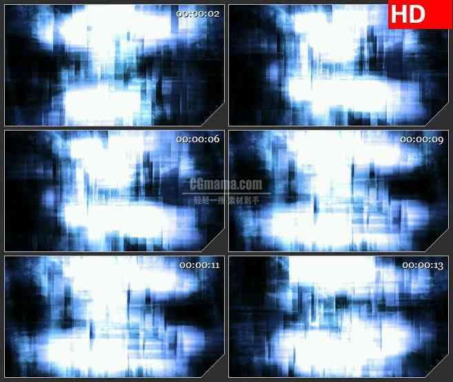 BG3206动态光背 黑暗中的光晕 led大屏背景高清视频素材