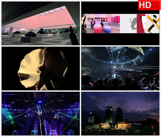ZY1508中国深圳文化艺术交流中心舞蹈义工夜生活酒吧夜店高清实拍视频素材