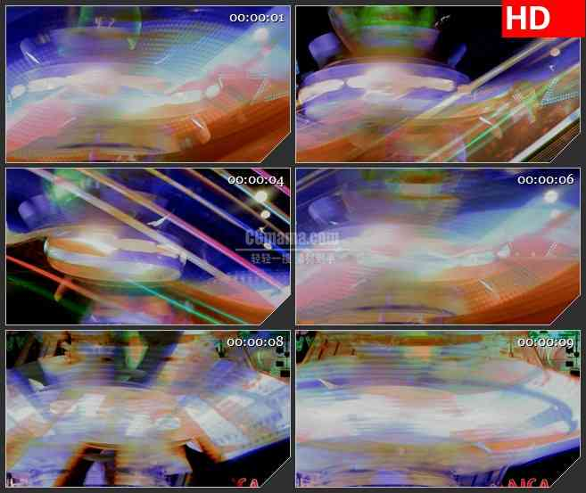 BG3268嘉年华的灯光led大屏背景高清视频素材