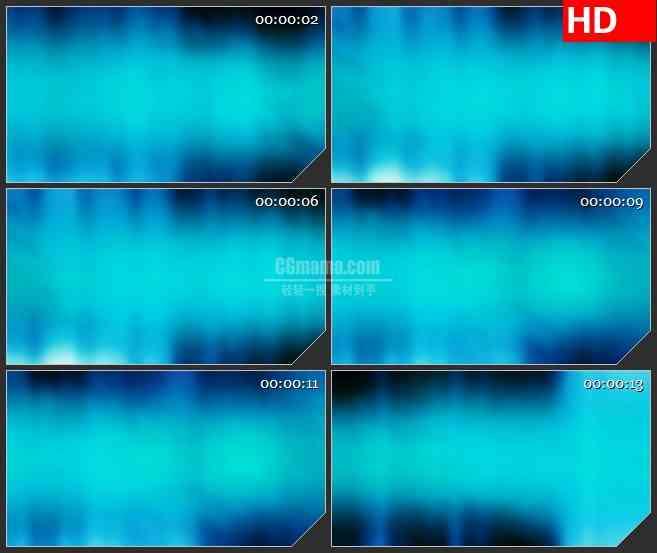 BG3276静谧蓝色光雾led大屏背景高清视频素材