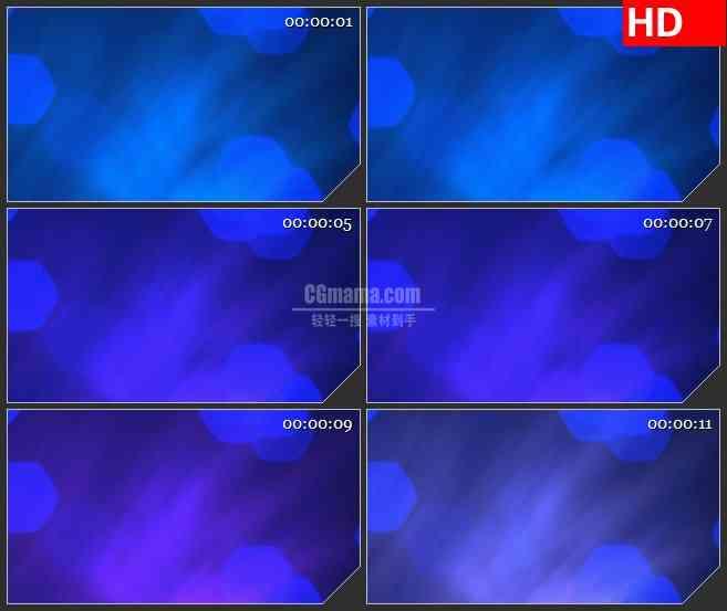 BG3313蓝紫色调变换 光幕led大屏背景高清视频素材