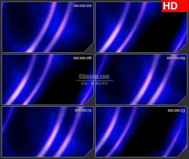 BG3316蓝紫色光线交替变化led大屏背景高清视频素材