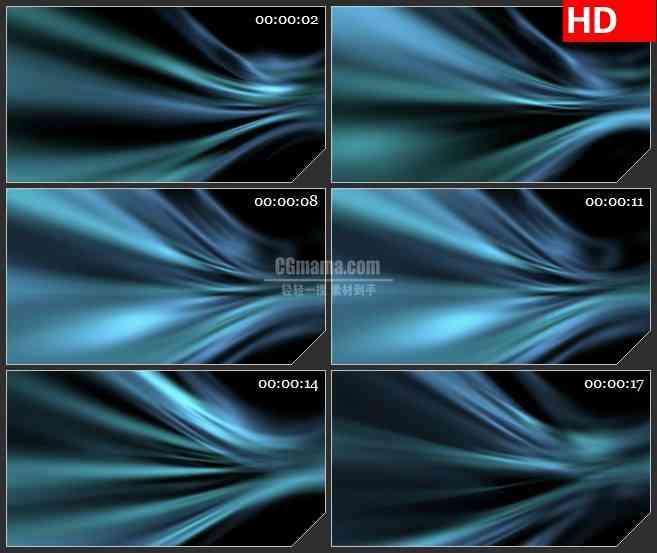 BG3319流动的暗色调光线led大屏背景高清视频素材
