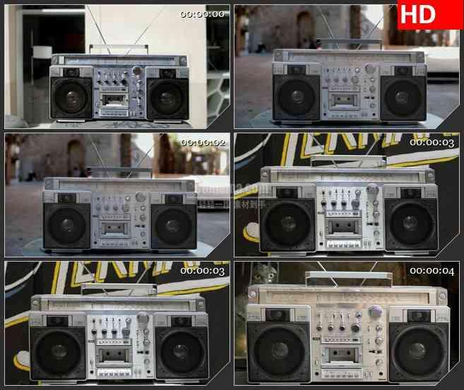 BG3321录音机 千变万化的世界各地led大屏背景高清视频素材