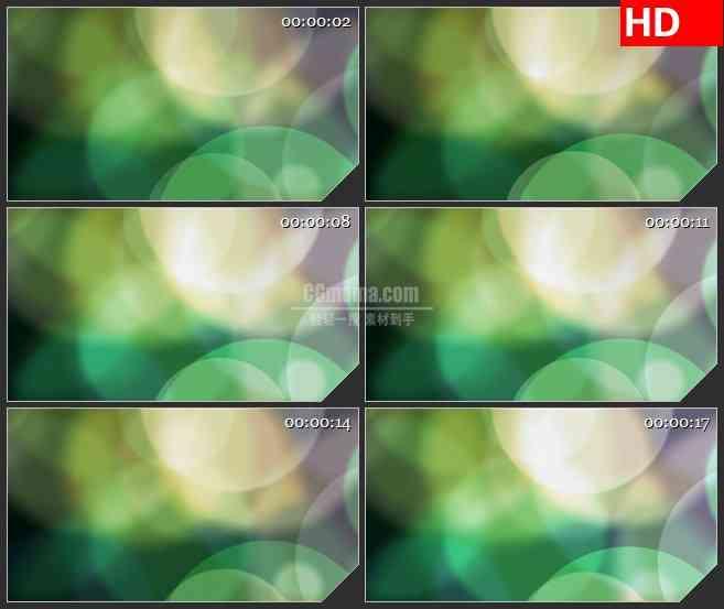 BG3329梦幻光斑 朦胧梦境led大屏背景高清视频素材