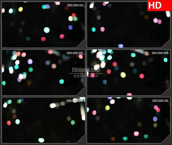 BG3349七彩霓虹灯光led大屏背景高清视频素材