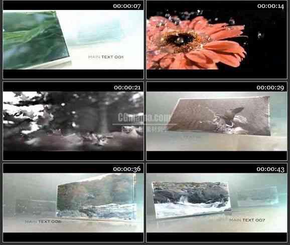 AE1968-时尚的视频定格动画视频展示