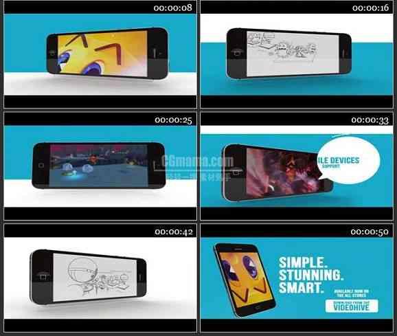 AE2011-移动应用游戏预告片