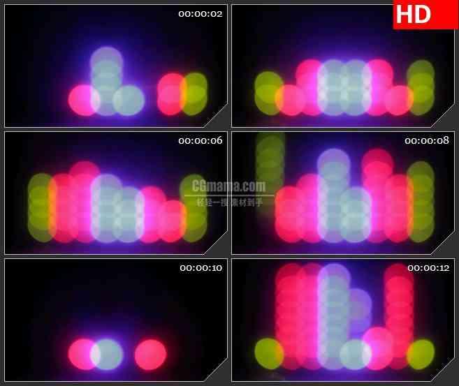 BG3363散景快谱led大屏背景高清视频素材
