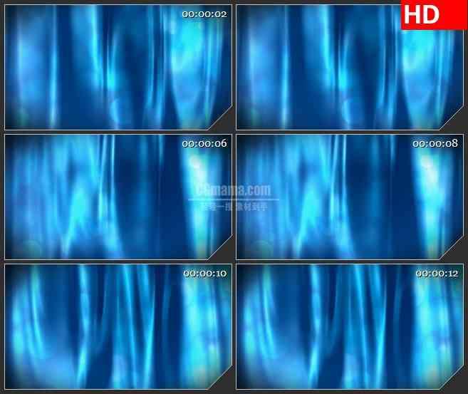 BG3371闪烁的蓝色光带led大屏背景高清视频素材