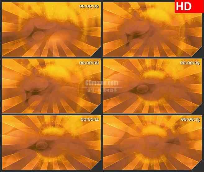 BG3408温暖的太阳光线led大屏背景高清视频素材