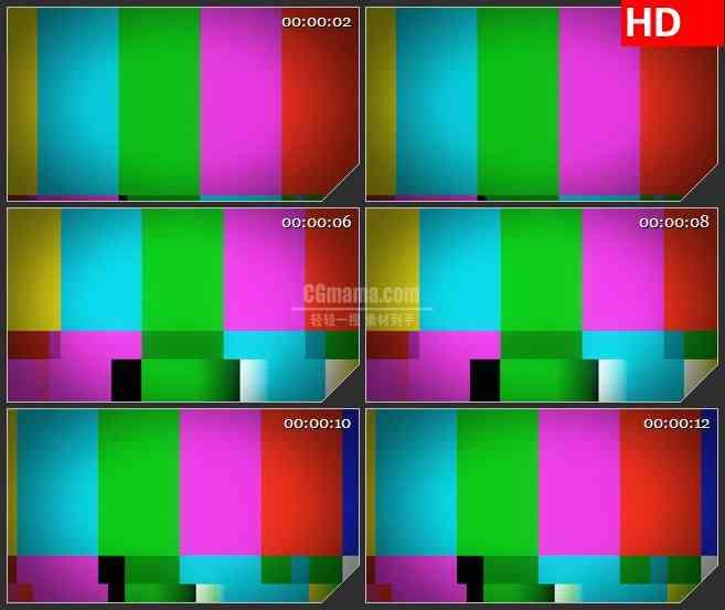 BG3409无信号电视屏幕led大屏背景高清视频素材