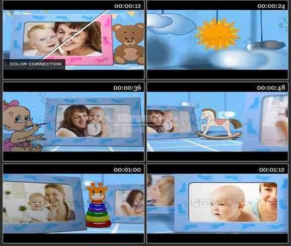 AE2066-儿童相册模板