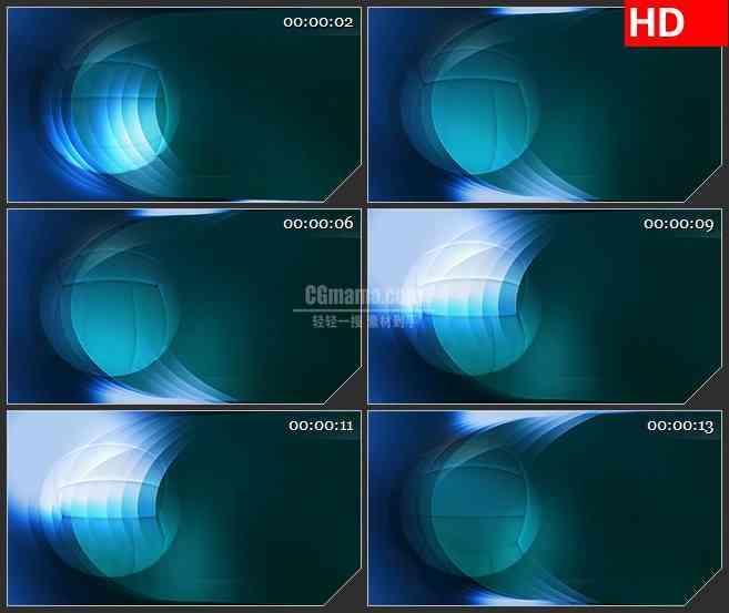 BG3479转动的排球 体育栏目背景led大屏背景高清视频素材