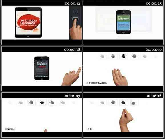 AE2178-手势触屏风格广告 产品介绍