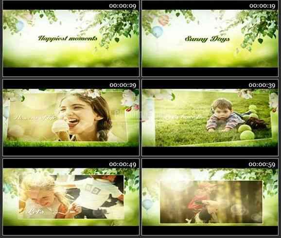 AE2184-让我们玩的开心 儿童相册
