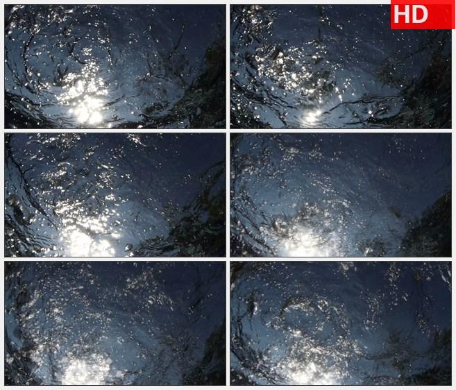 ZY1749水下气泡水波拍摄高清实拍视频素材