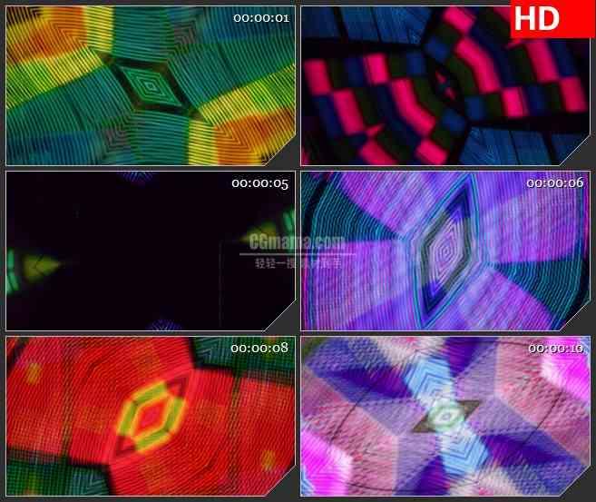 BG3497变化多端的光线led大屏背景高清视频素材