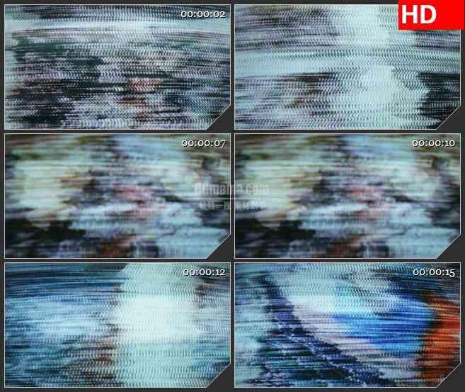 BG3512彩色电视静态模糊led大屏背景高清视频素材
