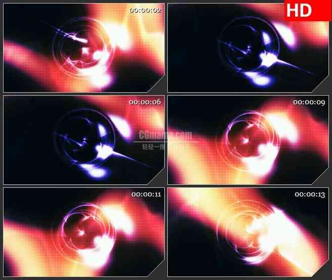BG3519彩色光晕 动态光背led大屏背景高清视频素材