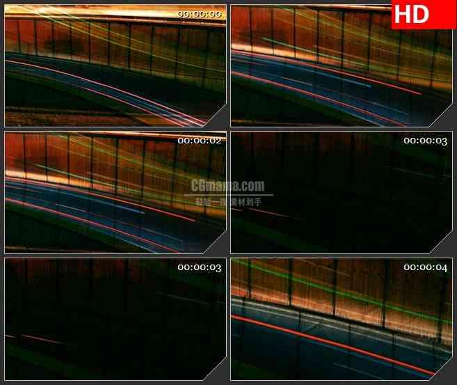 BG3543川流不息的车辆led大屏背景高清视频素材