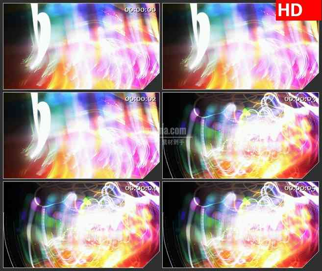 BG3548灯光秀led大屏背景高清视频素材