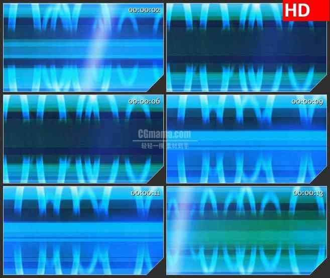 BG3578动态光背 蓝色光环led大屏背景高清视频素材