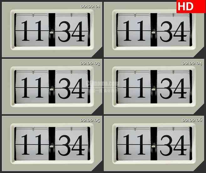 BG3646计时器 时钟led大屏背景高清视频素材