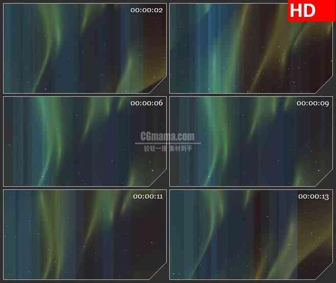 BG3678蓝色半透明竖条背景白色粒子飞舞led大屏背景高清视频素材