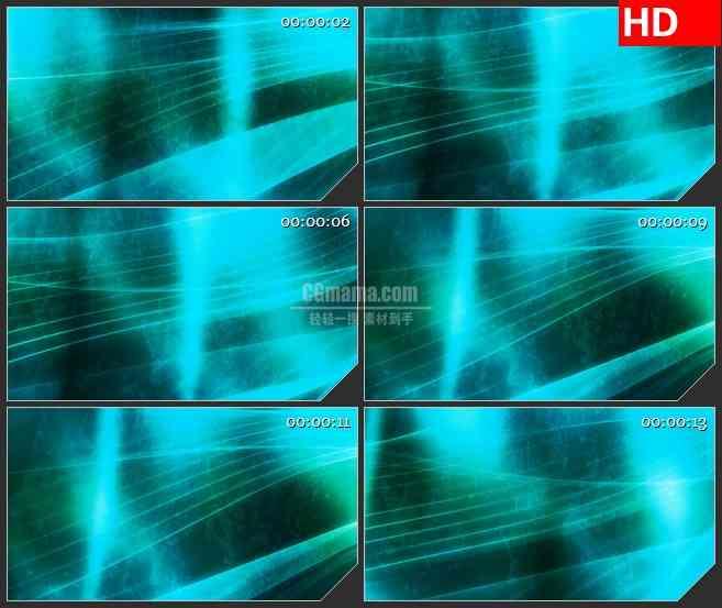 BG3679蓝色波纹背景变换led大屏背景高清视频素材