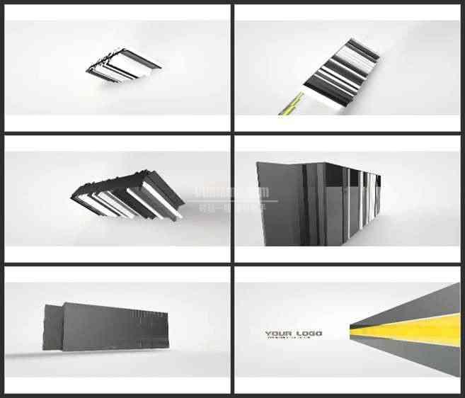 AE3422-3D空间 商务类 图文视频展示 LOGO宣传片
