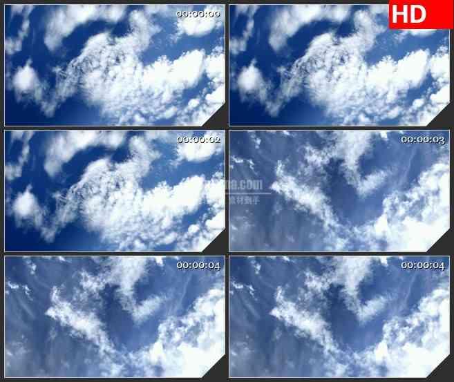 BG3696蓝天白云 晴朗天空led大屏背景高清视频素材