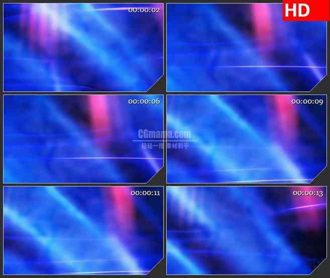 BG3699蓝紫色柔和灯光旋光斑风led大屏背景高清视频素材