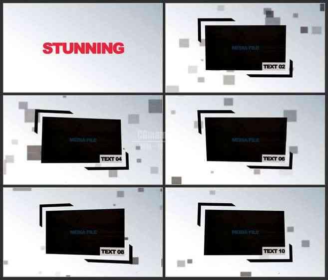 AE3476-企业宣传 图文视频展示
