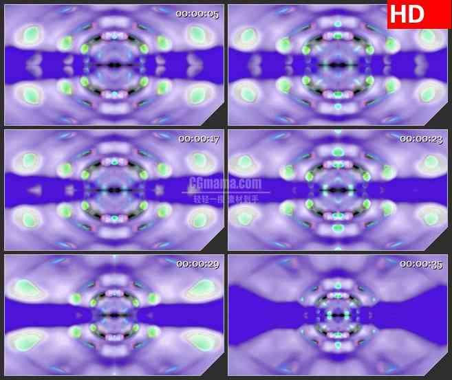 BG3728朦胧晶体 镜像led大屏背景高清视频素材