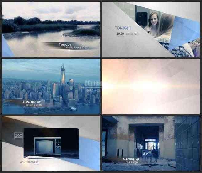 AE3503-电视频道包装  图文视频展示 宣传片