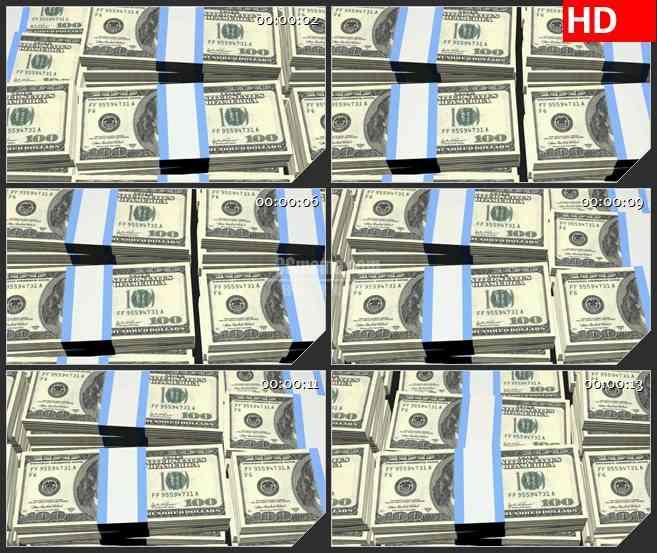 BG3737铺天盖地的现金led大屏背景高清视频素材