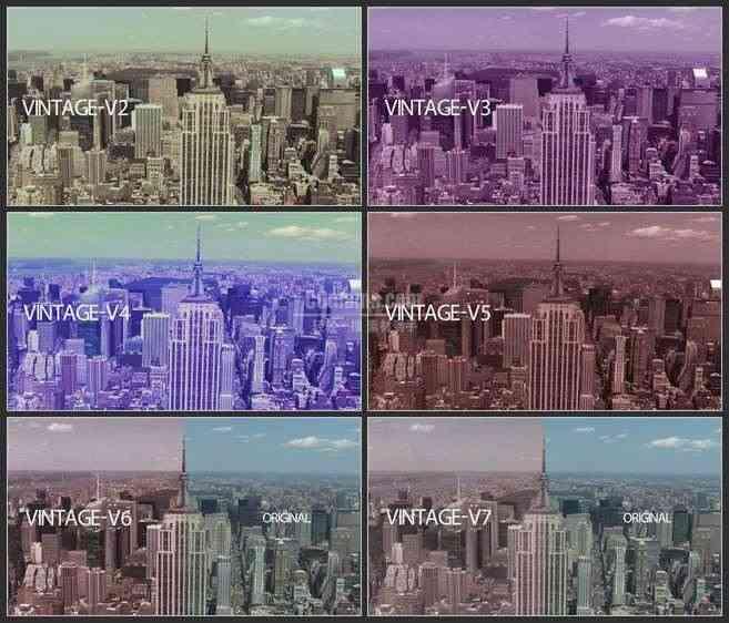 AE3506-现代城市景色 文本展示 宣传纪录片