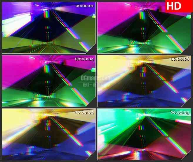 BG3759色覆盖隧道led大屏背景高清视频素材