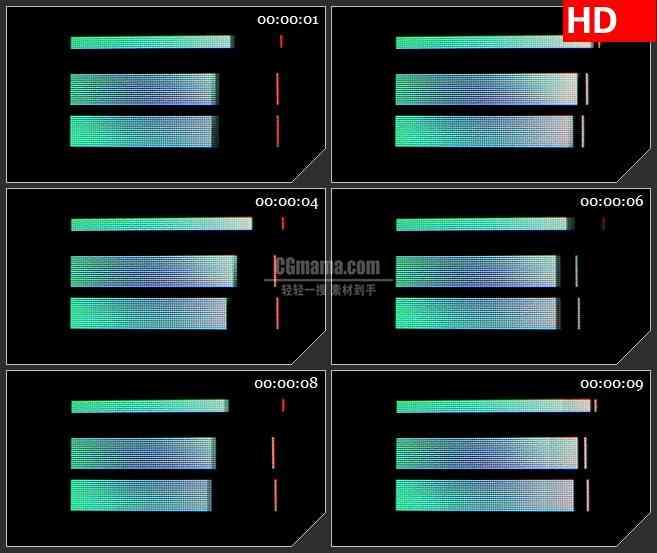 BG3762闪动的计算机光标led大屏背景高清视频素材