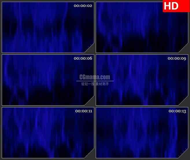 BG3770深蓝色动态光背led大屏背景高清视频素材